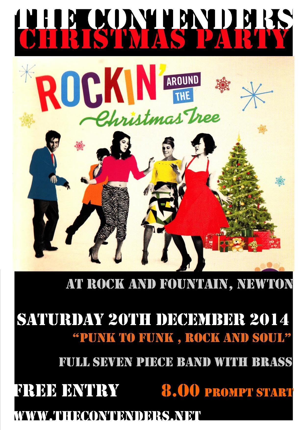 Poster for rock Chrimbo 20 12 14
